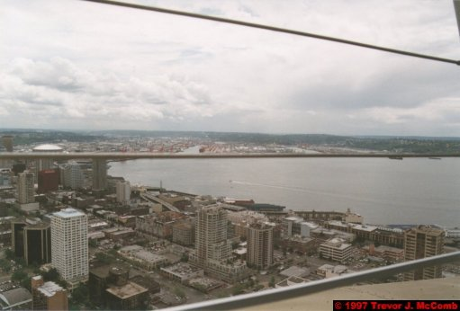 U.S.A.~Canada 007 ~ Washington 007 ~ Seattle 07 ~ Seattle Centre 05 ~ Space Needle 03 ~ View From 02 ~ Puget Sound 1