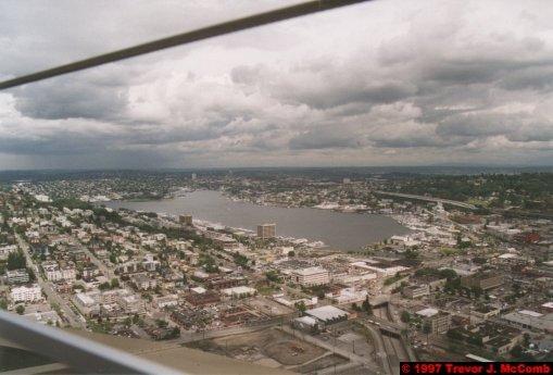 U.S.A.~Canada 009 ~ Washington 009 ~ Seattle 09 ~ Seattle Centre 07 ~ Space Needle 05 ~ View From 04 ~ Lake Washington