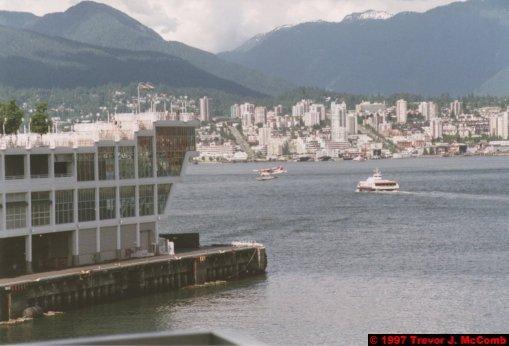 U.S.A.~Canada 021 ~ British Columbia 001 ~ Vancouver 01 ~ Canada Place 01 ~ Burrard Inlet 01 ~ North Vancouver 1 ~ Sea Plane