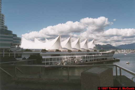 U.S.A.~Canada 022 ~ British Columbia 002 ~ Vancouver 02 ~ Canada Place 02 ~ Burrard Inlet 02