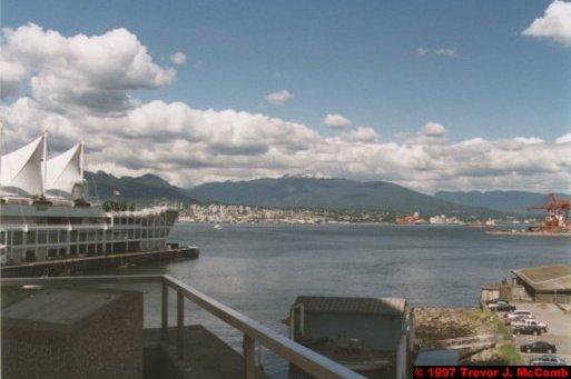 U.S.A.~Canada 023 ~ British Columbia 003 ~ Vancouver 03 ~ Canada Place 03 ~ Burrard Inlet 03
