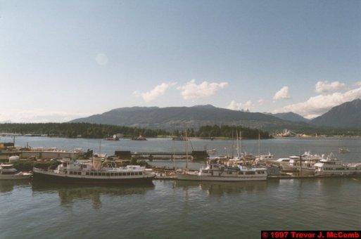 U.S.A.~Canada 026 ~ British Columbia 006 ~ Vancouver 06 ~ Canada Place 06 ~ Burrard Inlet 05 ~ Boats 1