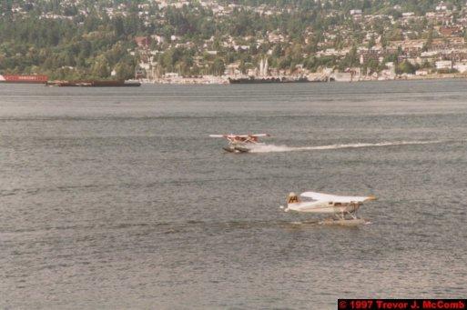 U.S.A.~Canada 030 ~ British Columbia 010 ~ Vancouver 10 ~ Canada Place 10 ~ Burrard Inlet 09 ~ Sea Plane 4
