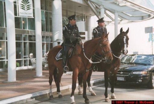 U.S.A.~Canada 037 ~ British Columbia 017 ~ Vancouver 17 ~ Canada Place 17 ~ Vancouver Police 2