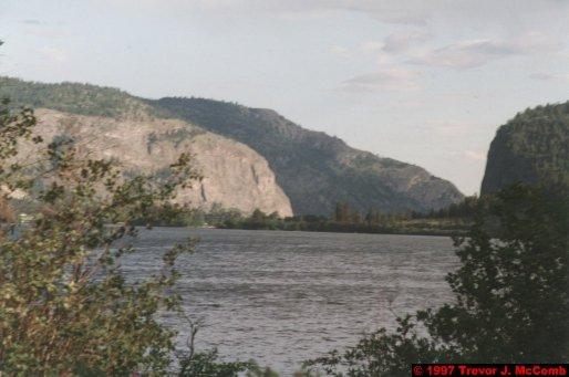 U.S.A.~Canada 130 ~ British Columbia 110 ~ From Osyoos To Kelowna 14