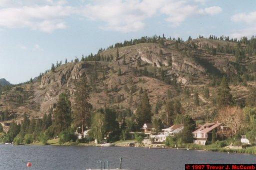 U.S.A.~Canada 134 ~ British Columbia 114 ~ From Osyoos To Kelowna 18