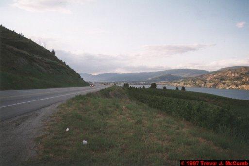 U.S.A.~Canada 140 ~ British Columbia 120 ~ From Osyoos To Kelowna 24