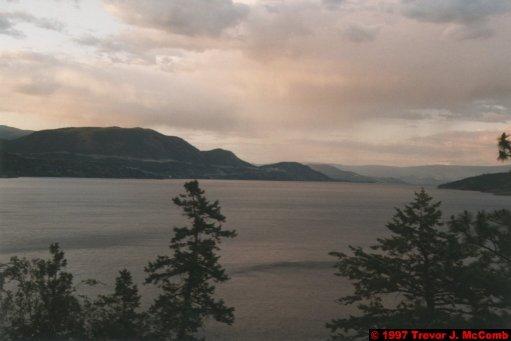U.S.A.~Canada 158 ~ British Columbia 138 ~ From Osyoos To Kelowna 42
