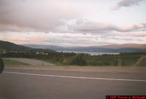 U.S.A.~Canada 165 ~ British Columbia 145 ~ From Osyoos To Kelowna 49