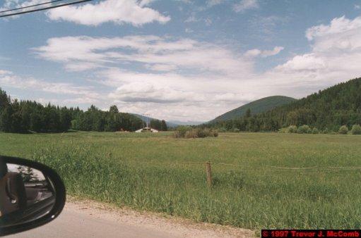 U.S.A.~Canada 189 ~ British Columbia 169 ~ From Kelowna To Revelstoke 21