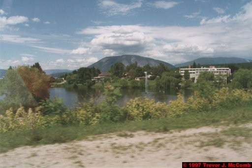 U.S.A.~Canada 192 ~ British Columbia 172 ~ From Kelowna To Revelstoke 24