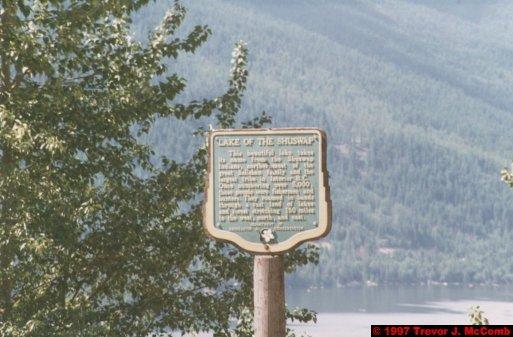 U.S.A.~Canada 197 ~ British Columbia 177 ~ From Kelowna To Revelstoke 29