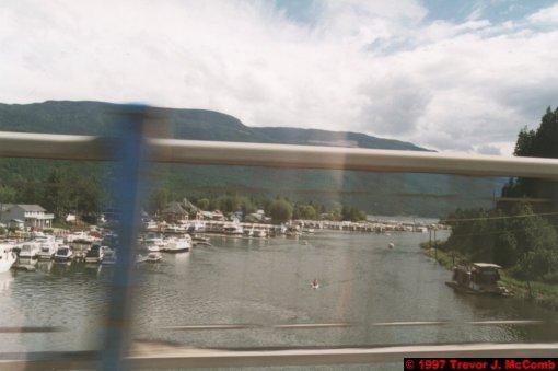 U.S.A.~Canada 203 ~ British Columbia 183 ~ From Kelowna To Revelstoke 35