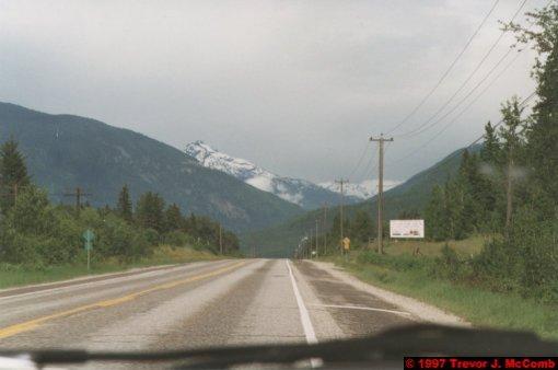 U.S.A.~Canada 212 ~ British Columbia 192 ~ From Kelowna To Revelstoke 44