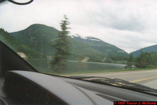 U.S.A.~Canada 222 ~ British Columbia 202 ~ From Kelowna To Revelstoke 54