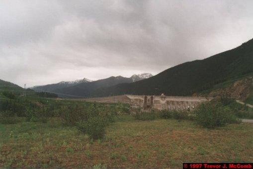 U.S.A.~Canada 238 ~ British Columbia 218 ~ Revelstoke Dam 01