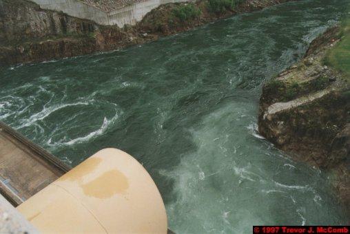 U.S.A.~Canada 242 ~ British Columbia 222 ~ Revelstoke Dam 05