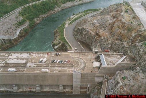 U.S.A.~Canada 247 ~ British Columbia 227 ~ Revelstoke Dam 10