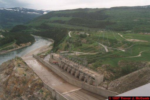 U.S.A.~Canada 248 ~ British Columbia 228 ~ Revelstoke Dam 11