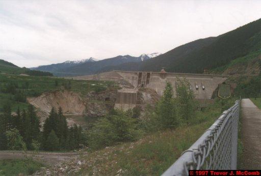 U.S.A.~Canada 251 ~ British Columbia 231 ~ Revelstoke Dam 14