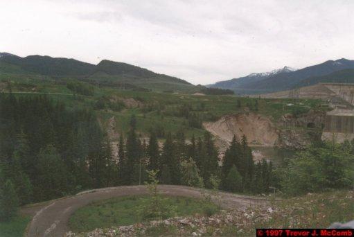 U.S.A.~Canada 252 ~ British Columbia 232 ~ Revelstoke Dam 15