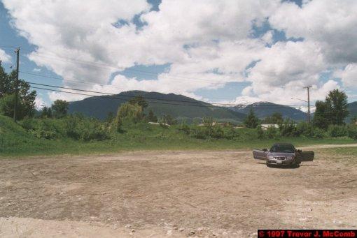 U.S.A.~Canada 266 ~ British Columbia 246 ~ Revelstoke 10 ~ Hire Car