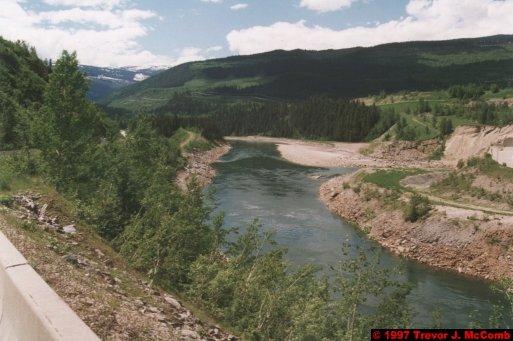 U.S.A.~Canada 280 ~ British Columbia 260 ~ Revelstoke Dam 26