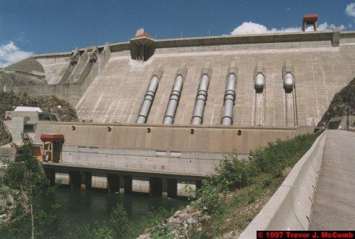 U.S.A.~Canada 281 ~ British Columbia 261 ~ Revelstoke Dam 27