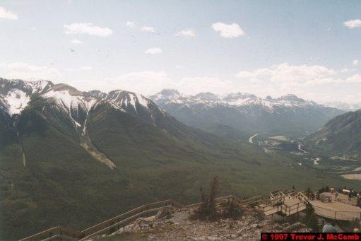 U.S.A.~Canada 519 ~ Alberta 020 ~ Banff 20 ~ From Sulphur Mountain 02