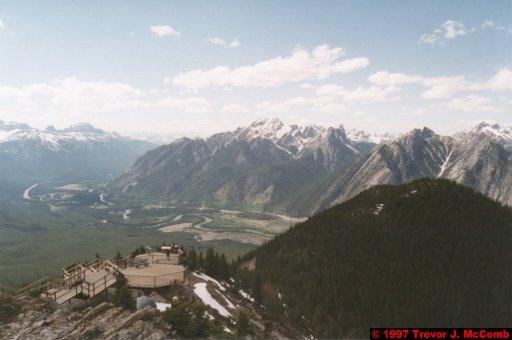 U.S.A.~Canada 520 ~ Alberta 021 ~ Banff 21 ~ From Sulphur Mountain 03
