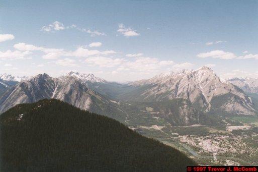 U.S.A.~Canada 521 ~ Alberta 022 ~ Banff 22 ~ From Sulphur Mountain 04
