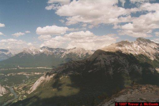 U.S.A.~Canada 523 ~ Alberta 024 ~ Banff 24 ~ From Sulphur Mountain 06