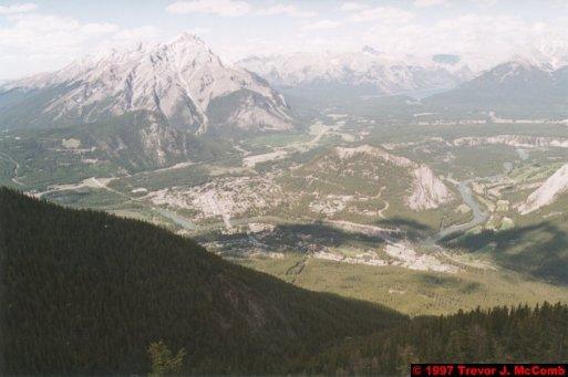 U.S.A.~Canada 524 ~ Alberta 025 ~ Banff 25 ~ From Sulphur Mountain 07