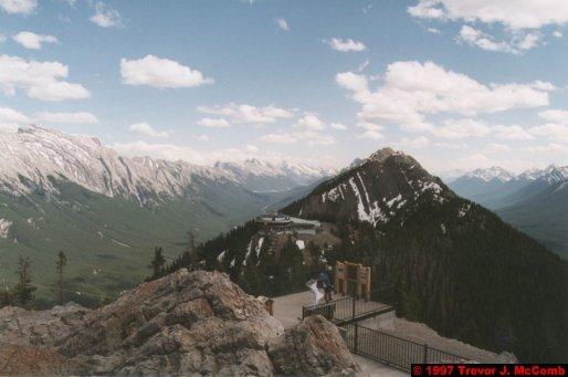 U.S.A.~Canada 526 ~ Alberta 027 ~ Banff 27 ~ From Sulphur Mountain 09