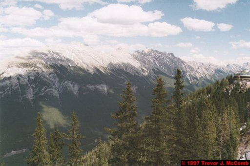 U.S.A.~Canada 532 ~ Alberta 033 ~ Banff 31 ~ From Sulphur Mountain 12