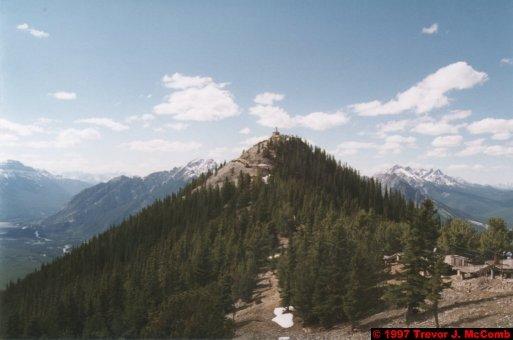 U.S.A.~Canada 534 ~ Alberta 035 ~ Banff 33 ~ From Sulphur Mountain 14