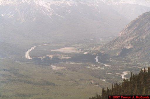 U.S.A.~Canada 535 ~ Alberta 036 ~ Banff 34 ~ From Sulphur Mountain 15
