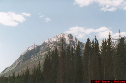 U.S.A.~Canada 540 ~ Alberta 041 ~ From Banff To Lake Louise 02