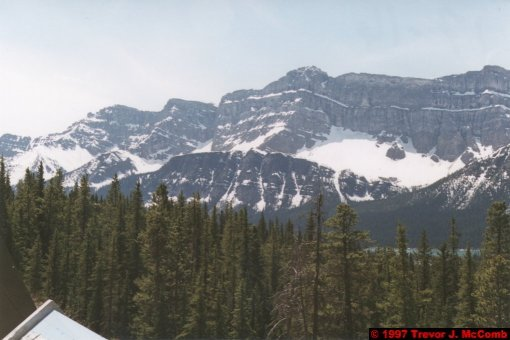 U.S.A.~Canada 600 ~ Alberta 101 ~ From Lake Louise To Athabasca Glacier 14 ~ Hector Lake 3