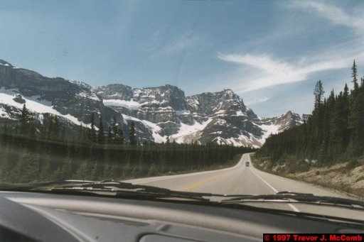 U.S.A.~Canada 609 ~ Alberta 110 ~ From Lake Louise To Athabasca Glacier 23