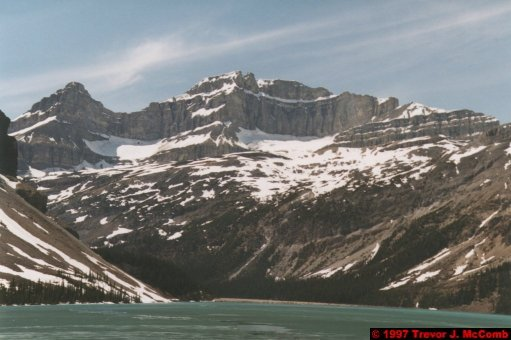 U.S.A.~Canada 624 ~ Alberta 125 ~ From Lake Louise To Athabasca Glacier 38 ~ Bow Lake 13