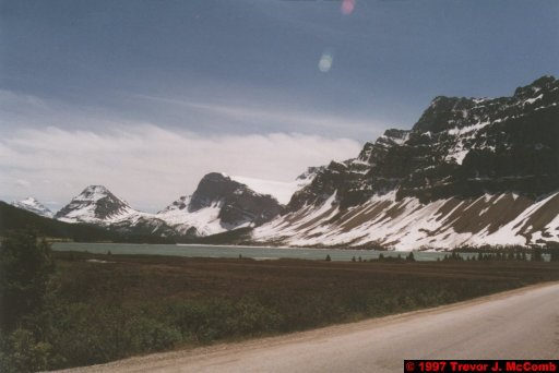 U.S.A.~Canada 625 ~ Alberta 126 ~ From Lake Louise To Athabasca Glacier 39 ~ Bow Lake 14
