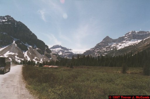 U.S.A.~Canada 627 ~ Alberta 128 ~ From Lake Louise To Athabasca Glacier 41 ~ Bow Lake 16