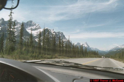 U.S.A.~Canada 642 ~ Alberta 143 ~ From Lake Louise To Athabasca Glacier 56