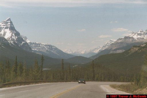 U.S.A.~Canada 643 ~ Alberta 144 ~ From Lake Louise To Athabasca Glacier 57