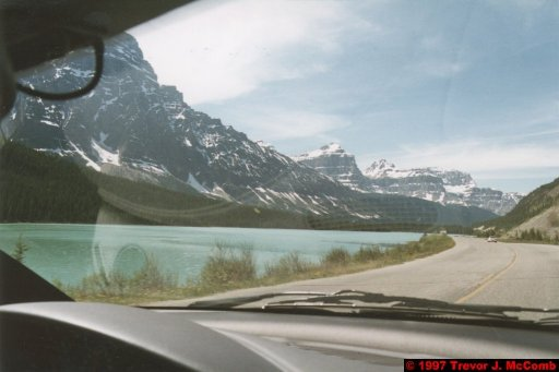 U.S.A.~Canada 649 ~ Alberta 150 ~ From Lake Louise To Athabasca Glacier 63