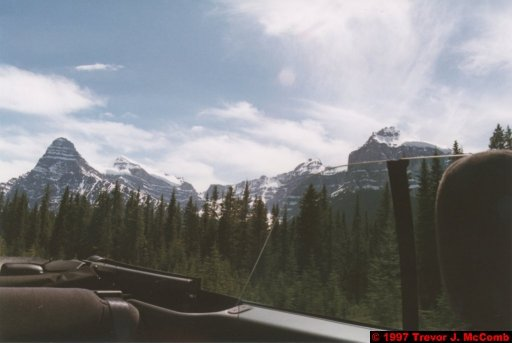 U.S.A.~Canada 654 ~ Alberta 155 ~ From Lake Louise To Athabasca Glacier 68