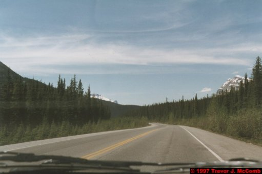 U.S.A.~Canada 655 ~ Alberta 156 ~ From Lake Louise To Athabasca Glacier 69