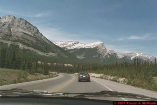 U.S.A.~Canada 657 ~ Alberta 158 ~ From Lake Louise To Athabasca Glacier 71