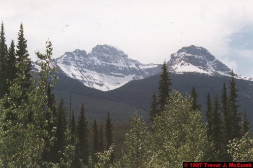 U.S.A.~Canada 664 ~ Alberta 165 ~ From Lake Louise To Athabasca Glacier 78